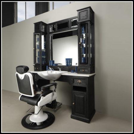 Barber stoel | kapsaloninrichting | Kappersmeubilair