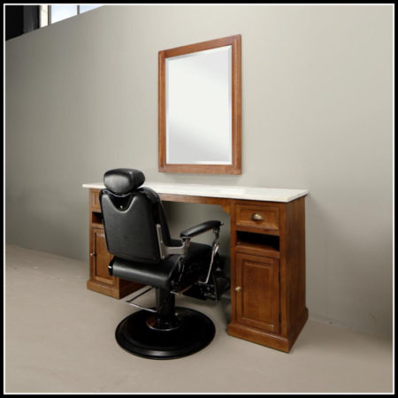 Classic barber meubel | Kappers meubelen | Barbershop interieur | Barbier | Herenkappers