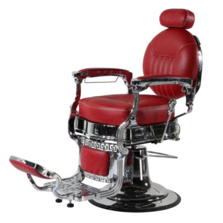 Kappersstoel | Empire | Rood | Barbershop | Barbier stoel | Old school Barberchairs | Nederland | België