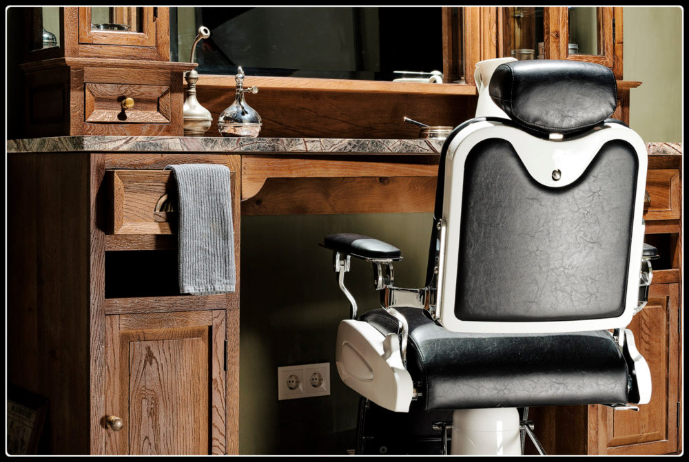 Barber stoel | Kapper stoel | Kappersmeubilair