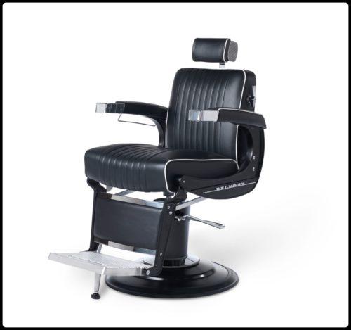 Takara Belmont   Kapper stoel   Zwart   Old school   Barbershop