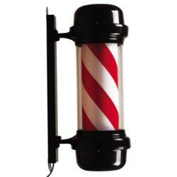 Barber pole   Zwart   Rood   Wit   Kapperspaal   Barbier paal   Barbershop paal