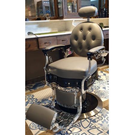 Barberstoel | Victory | Special edition | AAA klasse pomp | Echt leren barberstoelen | Barber meubelen | Salonstoel | Barberinrichting | Kappersmeubilair